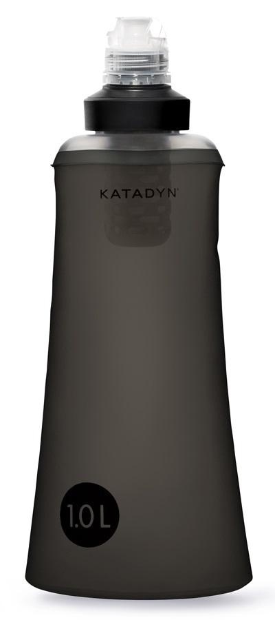 Katadyn BeFree 1L Tactical Water Filtration Bottle, 1L Grey