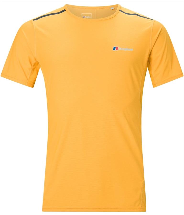 Berghaus Super Tech Short Sleeve Base Layer T-Shirt, S Sunflower