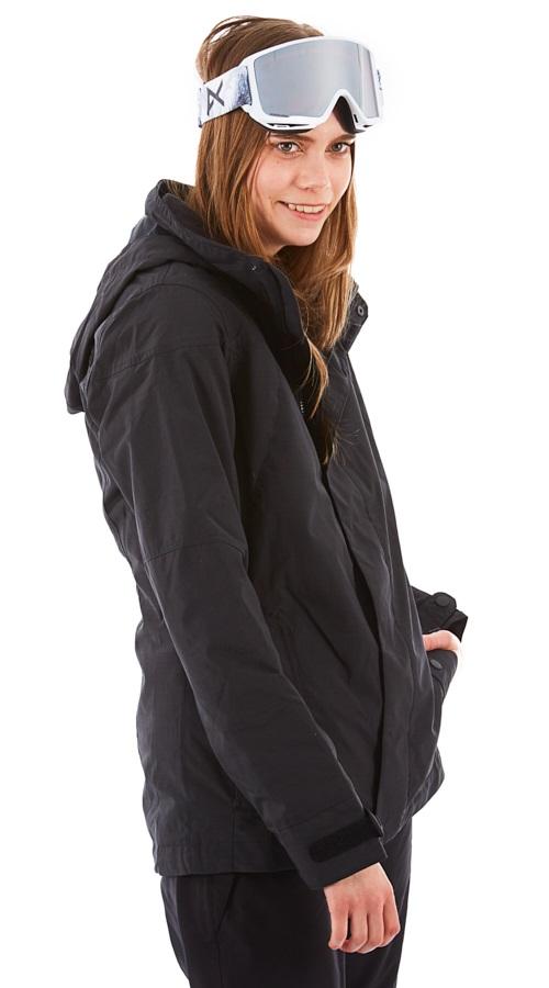 Burton Jet Set Women's Snowboard/Ski Jacket, S True Black Heather