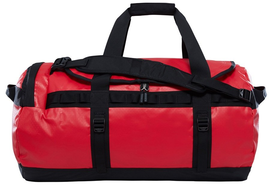 The North Face Base Camp Medium Duffel Travel Bag, 71L TNF Red
