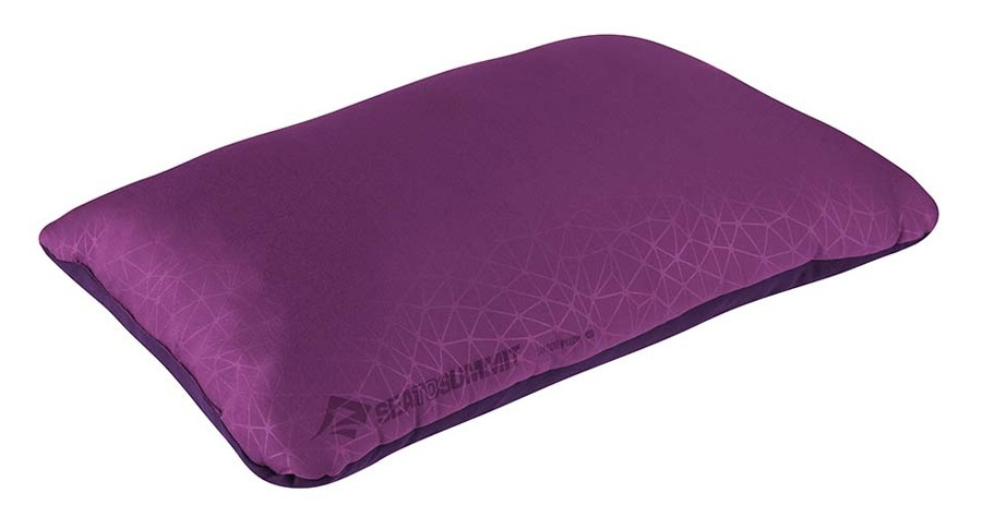 Sea to Summit Foam Core Pillow Camping Pillow, Large Magenta