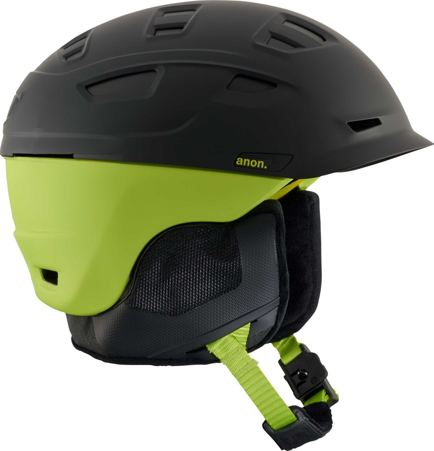 Anon Prime MIPS Ski/Snowboard Helmet, S Cracked Black