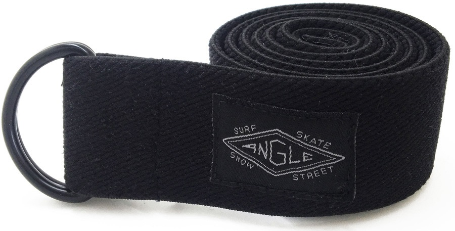 Angle Supply Co. Hybrid Stretch Belt, Black