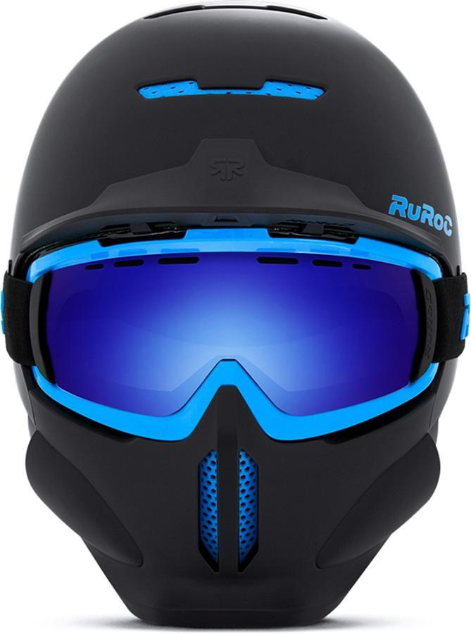 Tent Sale Canada >> Ruroc RG1-DX Full Face Snowboard/Ski Helmet, M/L, Black Ice