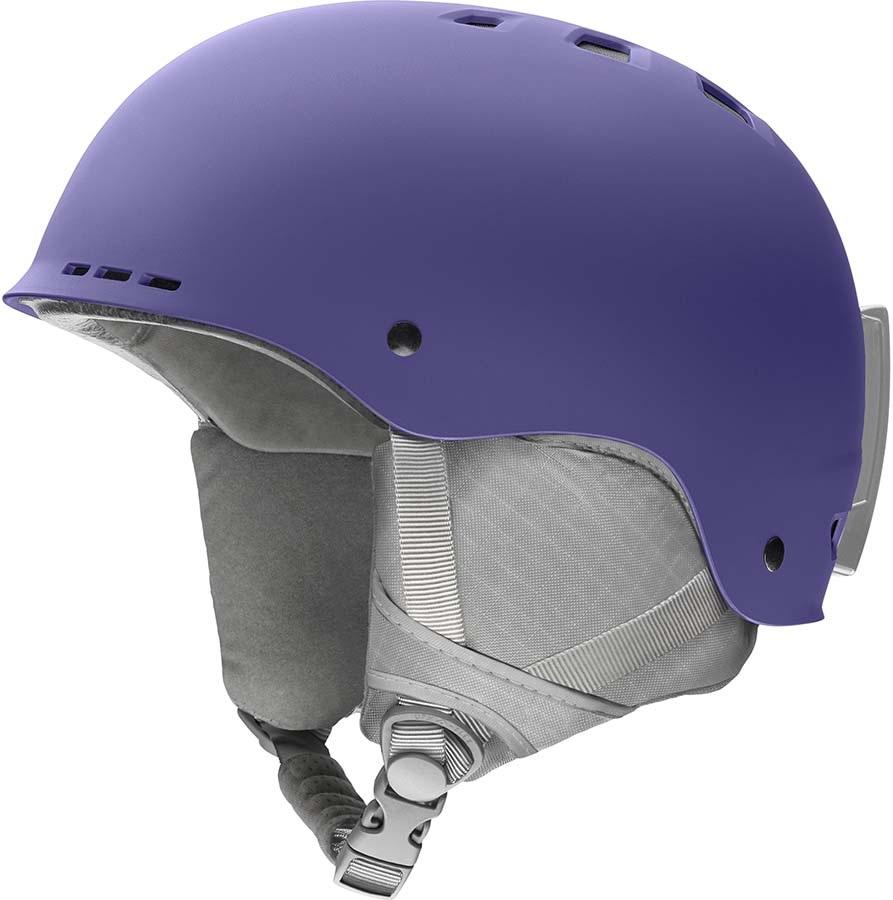 Smith Holt Snowboard/Ski Helmet, S Matte Dusty Lilac 2020