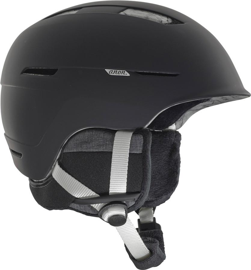 Anon Womens Auburn MIPS Women's Ski/Snowboard Helmet, M Marble Black