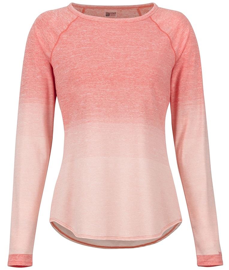 Marmot Cabrillo Long Sleeve Women's Top, S Flamingo