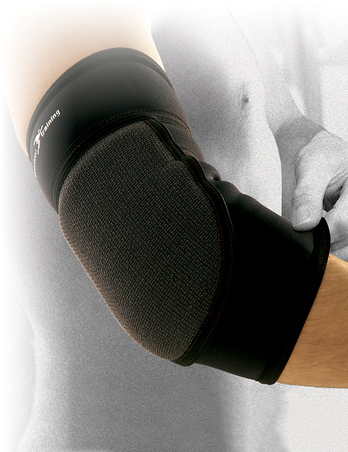Precision Neoprene Padded Elbow Support S Black