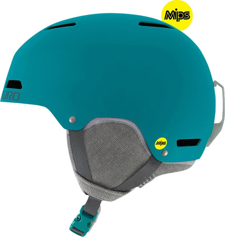 Giro Ledge MIPS Snowboard/Ski Helmet, S Matte Marine