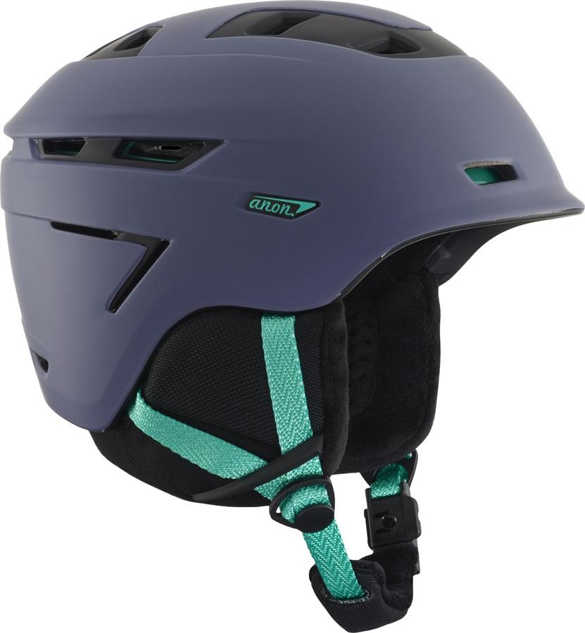 Anon Omega Women's Ski/Snowboard Helmet, L Gala Purple