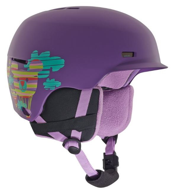 Anon Flash Kid's Ski/Snowboard Helmet, L/XL Baloonz Purple