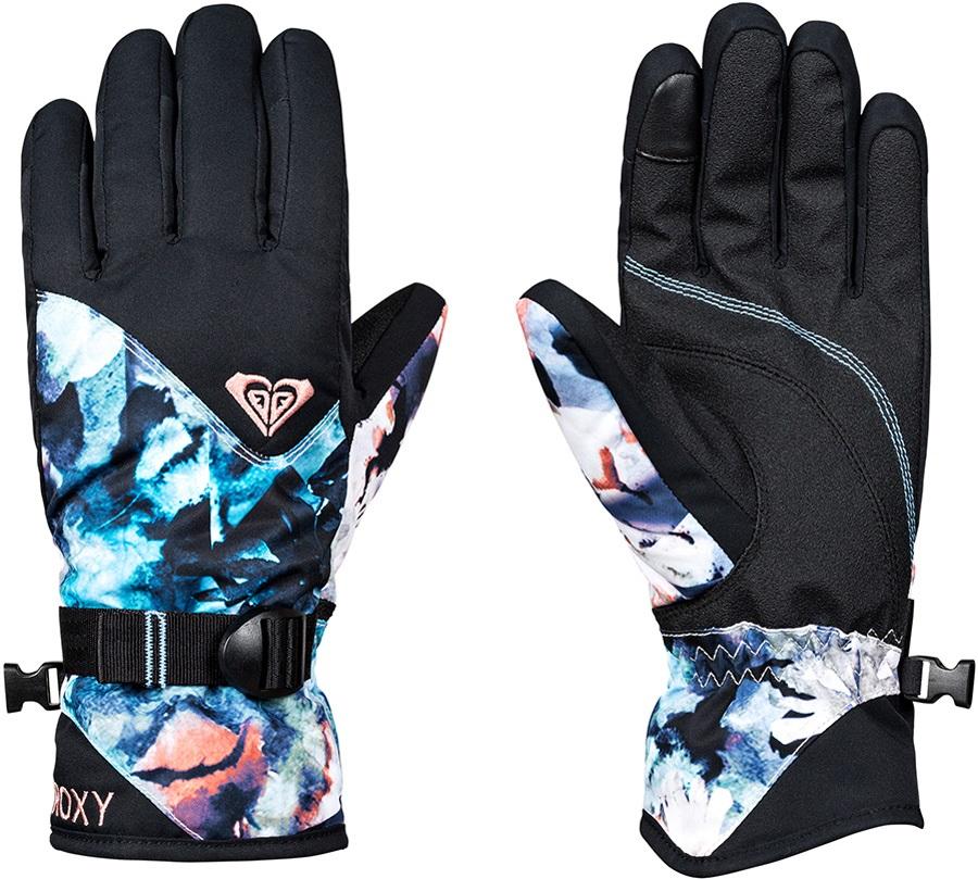 Roxy Jetty Women's Snowboard/Ski Gloves, M Sparkles