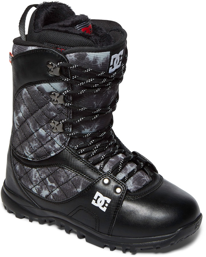 DC Karma Womens Snowboard Boots, UK 5 Black 2018