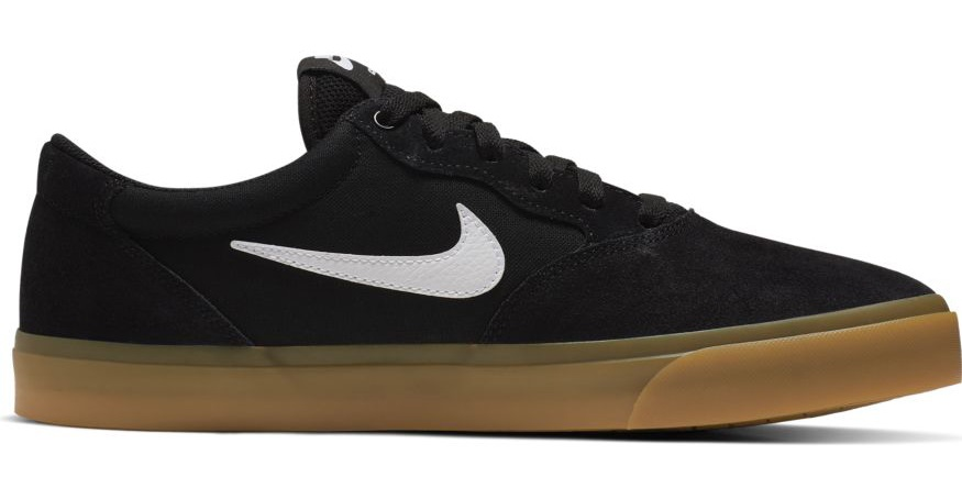 Nike SB Chron Solarsoft Men's Skate Shoes, UK 7 Black/Gum