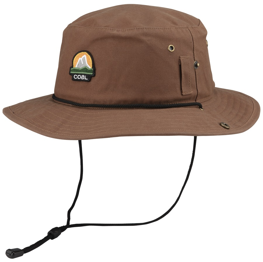 Coal The Seymour Full Brim Hat, M Light Brown