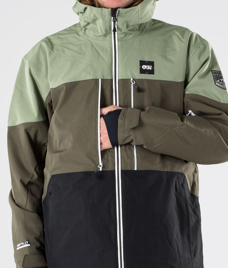 South Play Mens Premium Ski Snowboard Wear Jacket Jumper North