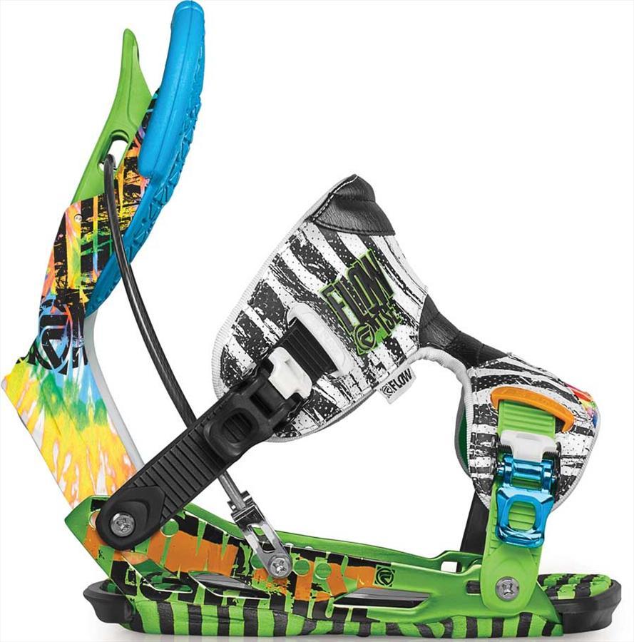 Flow NXT ATSE Snowboard Bindings, XL (UK 9.5-14), Lime, 2012