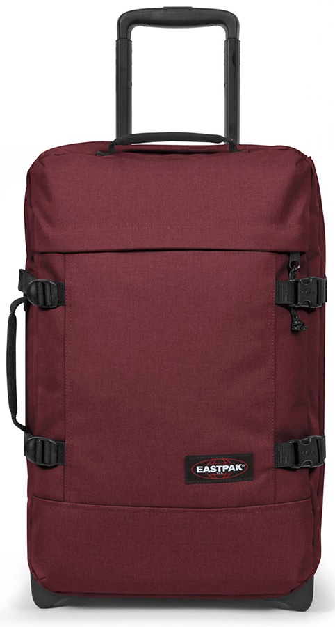 Eastpak Tranverz S Wheeled Bag/Suitcase, 42L Crafty Wine