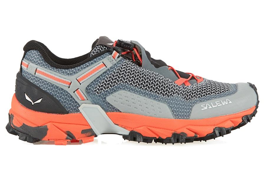 Salewa Ultra Train 2 Women's Trail Running Shoes, UK 4 GreyPink