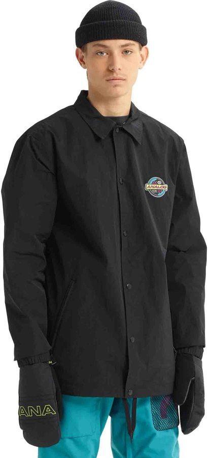 Analog Sparkwave Coaches Ski/Snowboard Jacket, S True Black