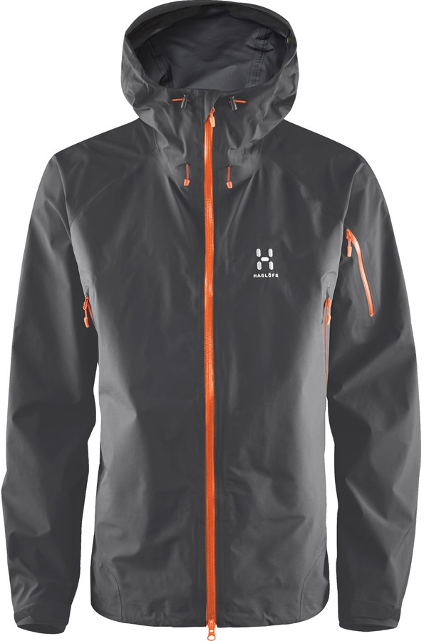 Haglofs Roc Spirit Waterproof Gore-Tex® Jacket, S Magnetite