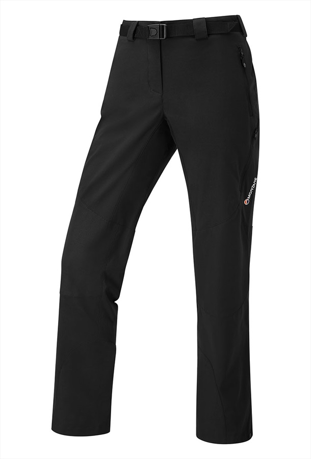 Montane Terra Ridge Short Women's Stretch Hiking Pants XS Black