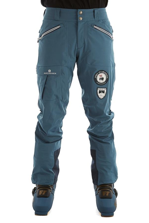 Amundsen Peak Panther Ski/Snowboard Pants, M Faded Blue