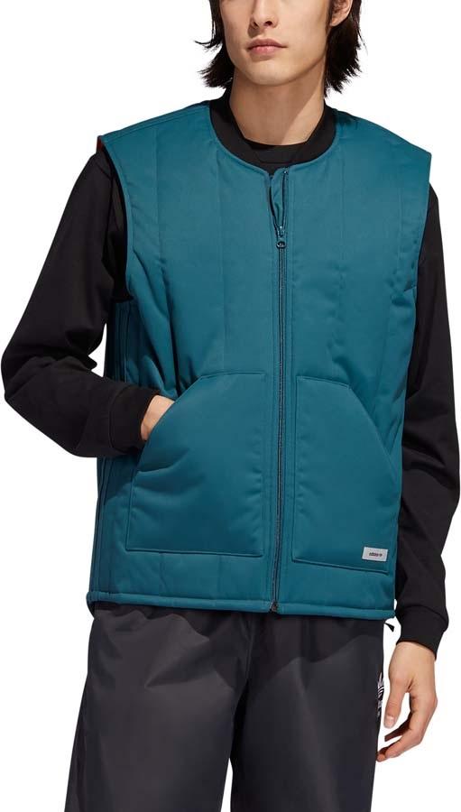 Adidas Workwear Vest Ski/Snowboard Gilet, L Viridian