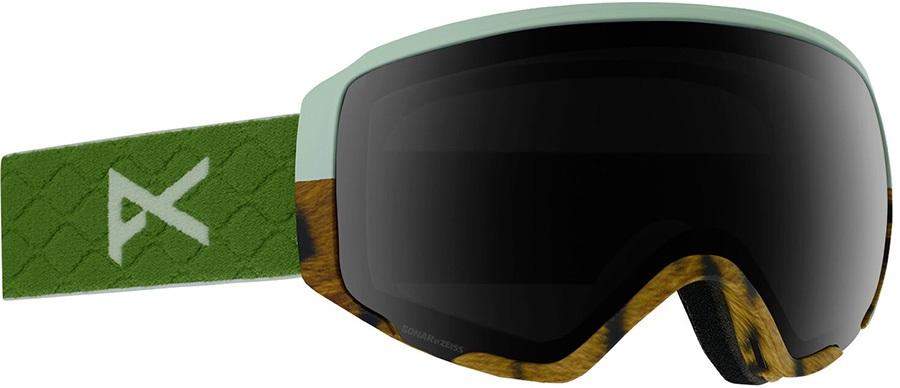 Anon WM1 Sonar Smoke Women's Ski/Snowboard Goggles, S/M Tiger