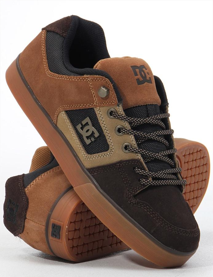 best loved 03b0e da2a6 DC PURE SLIM WR Skate Shoes, UK 7, Dark Chocolate