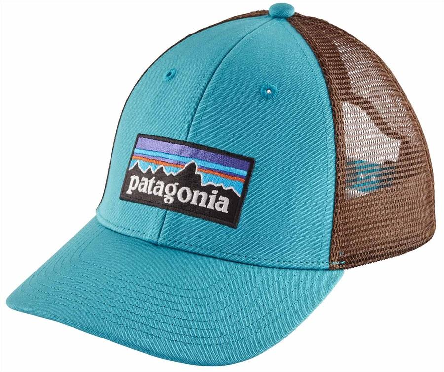 5f94759b0cf22 Patagonia Adult Unisex P-6 Logo LoPro, Adjustable Mako Blue