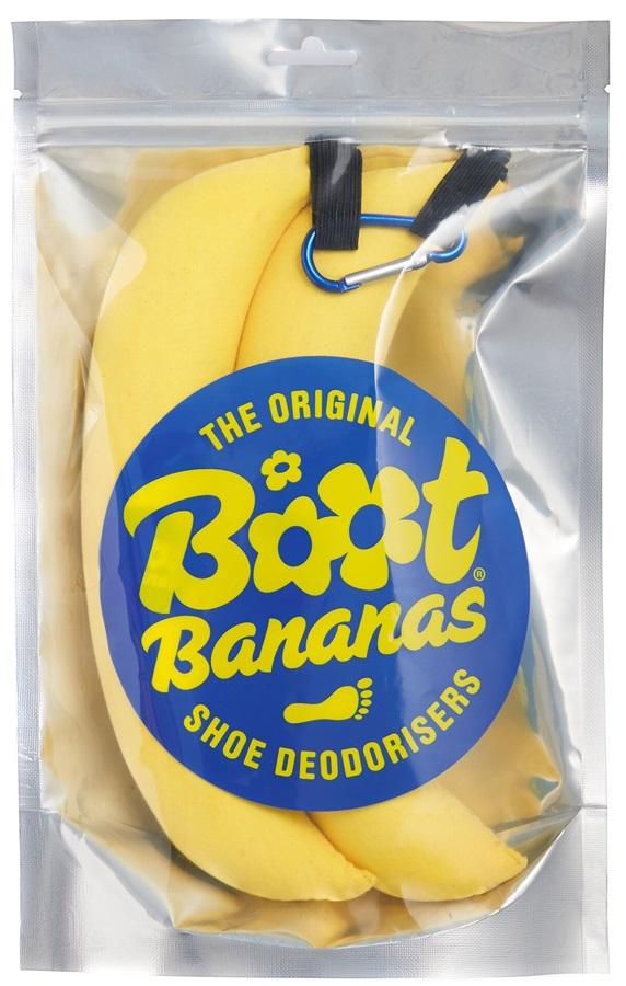 Boot Bananas Shoe Deodorisers Pair Yellow