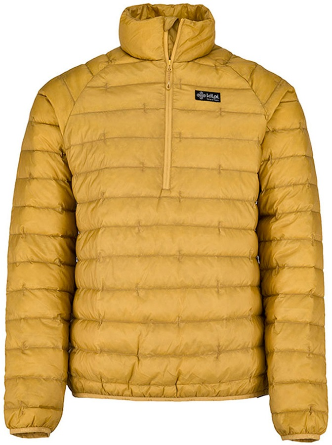 Kilpi Edmon Insulated Down Jacket, L Yellow