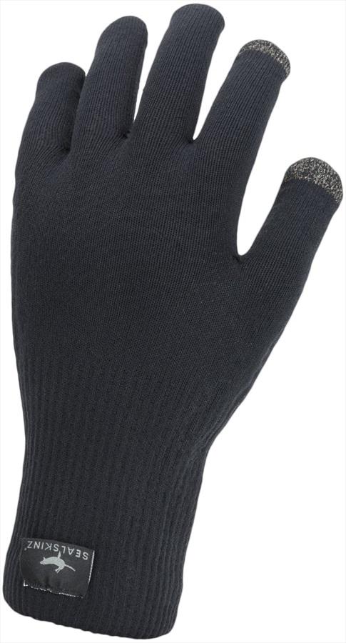 SealSkinz Ultra Grip Gloves, L Black