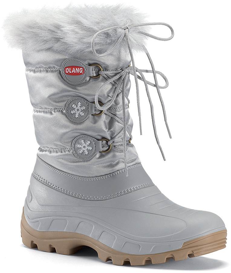 faa183f6c Olang Patty Winter Snow Boots UK 4/5 Silver