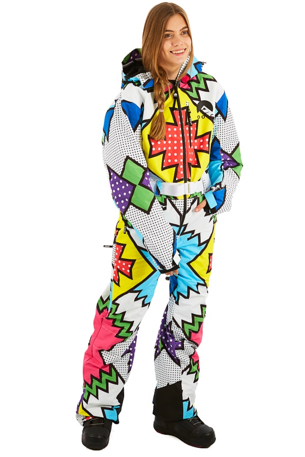 OOSC Snow Suit Women's Snowboard/Ski One Piece, XS Day Tripper
