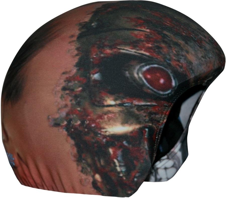 Coolcasc Printed Cool Ski/Snowboard Helmet Cover, Terminator