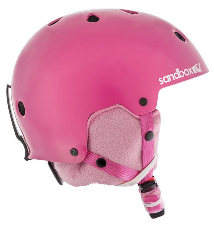 Sandbox Legend Ace Kids Ski/Snowboard Helmet, Kids Hot Pink