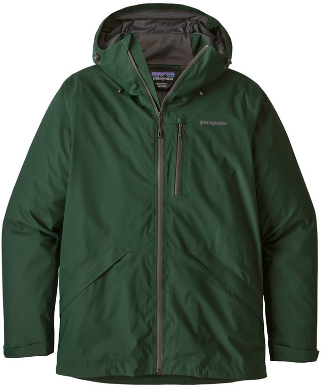 Patagonia Snowshot Snowboard/Ski Jacket - S, Micro Green