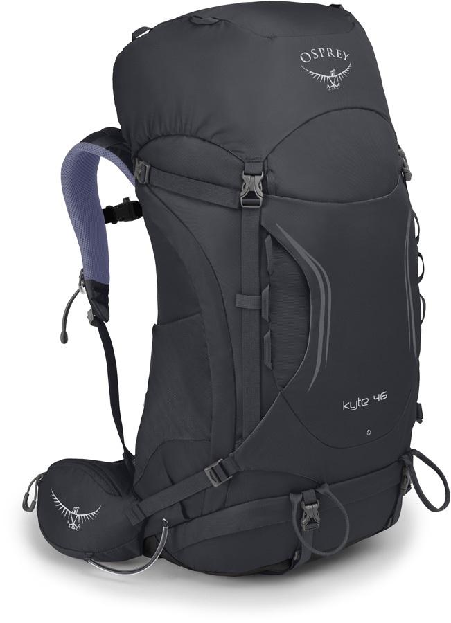 Osprey Womens Kyte 46 WS/WM Trekking Pack, Siren Grey