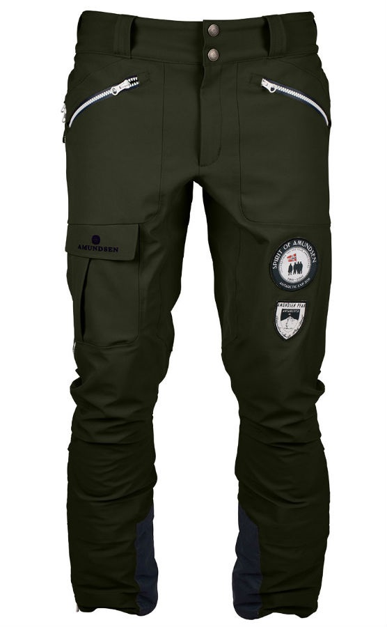 Amundsen Peak Panther Ski/Snowboard Pants, L Earth