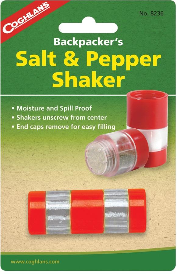 Coghlan's Backpackers Salt & Pepper Shaker Camping Seasoning Kit