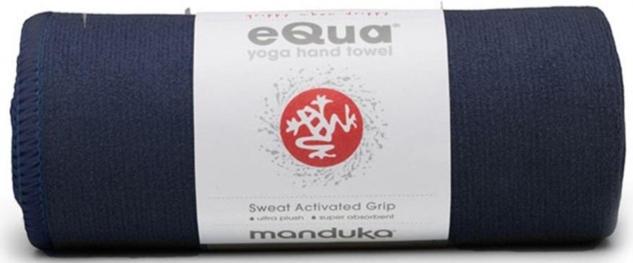 Manduka EQua Yoga Hand Towel, Midnight