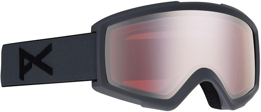 Anon Helix 2.0 Sonar Silver Ski/Snowboard Goggles, S/M Stealth