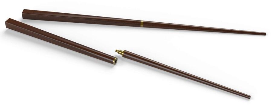 Primus Campfire Chopsticks Compact Camping Utensils, Rosewood