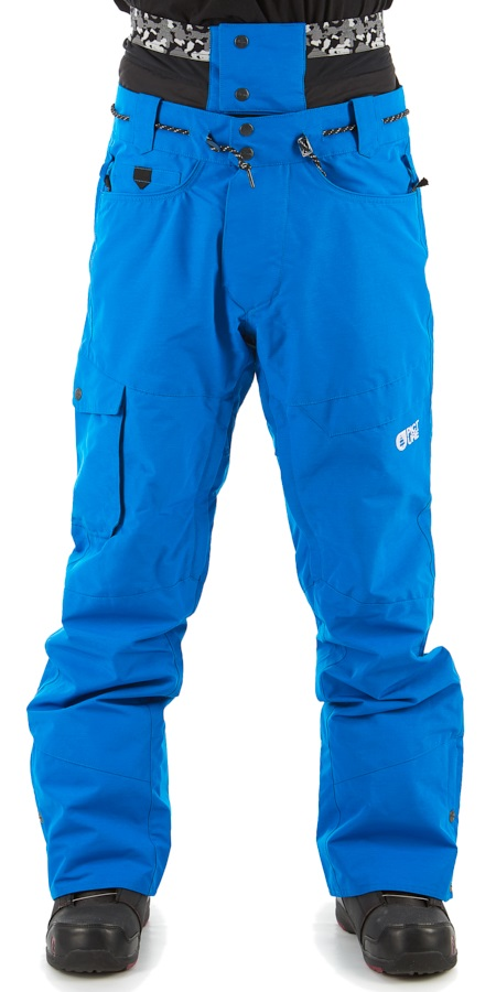 Picture Under Ski/Snowboard Pants, M Blue
