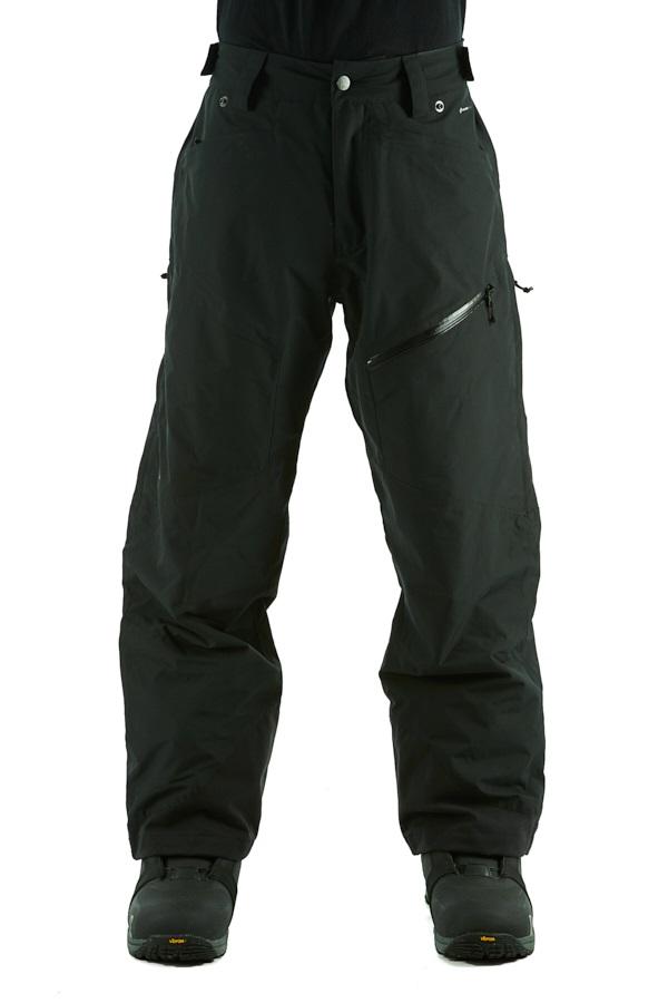 Flylow Snowman Insulated Ski/Snowboard Pants, M Black