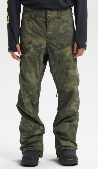 Burton Covert Snowboard/Ski Pants, S Worn Camo 2020