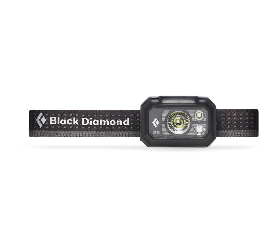 Black Diamond Storm375 LED Headlamp, 375 Lumens Graphite