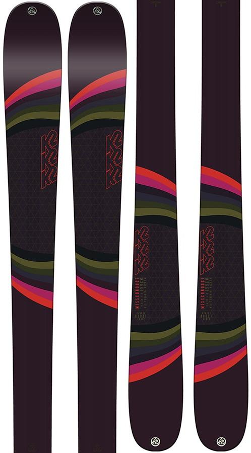K2 Womens Missconduct Ski Only Women's Skis, 159cm Mauve 2019